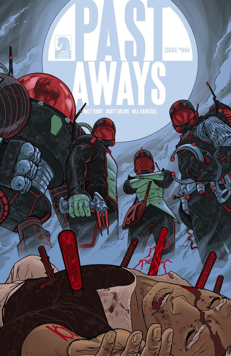 Past Aways Comic Cover