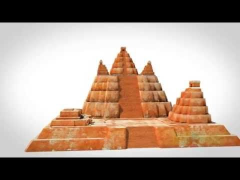 Tikal 3d, El Mirador and Danta Guatemala - YouTube