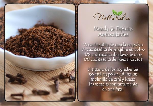 3848856 Mezcla de especias antioxidantes