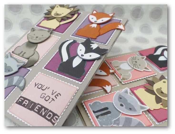 Coul'Heure Papier: Carte Magique des Petits Z'Amis [Tutoriel] + offre Stampin'…