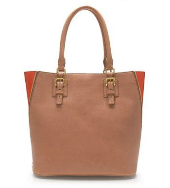 A brown leather tote bag will never, ever go out of style. {the J.Crew Goodwin tote}