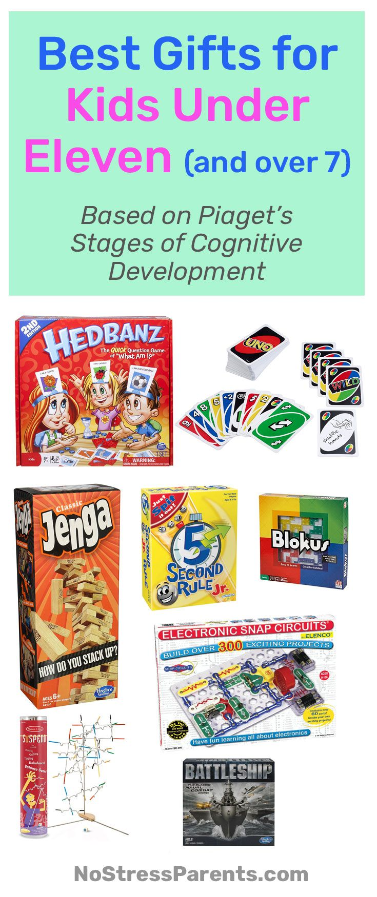 Imagine you could have Piaget handpicking the gifts for your kids under 11 years old, based on his theory of Cognitive Development. This is the purpose of this post.