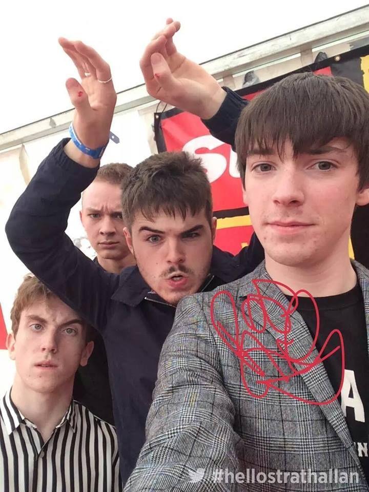 The Strypes-selfie