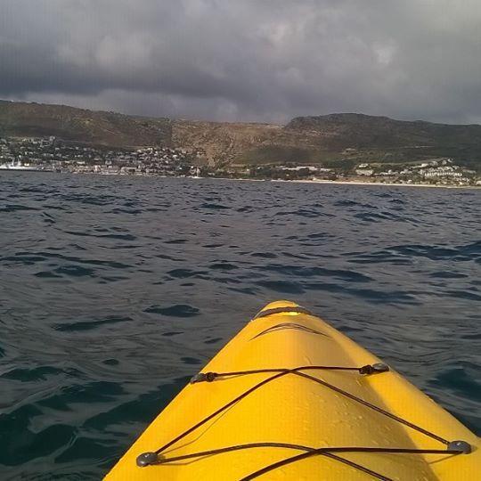View from my Fishing Kayak - Fluid Bamba