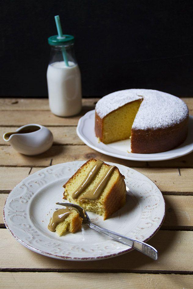 Hot milk sponge cake e zabaione al caffè