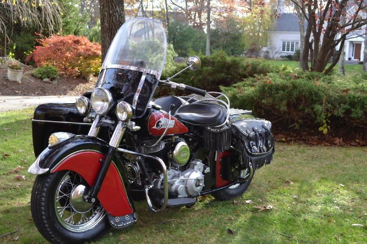 antique motorcycles for sale | 1950 Antique Vintage Indian Chief Motorcycle For Sale - Starklite ...