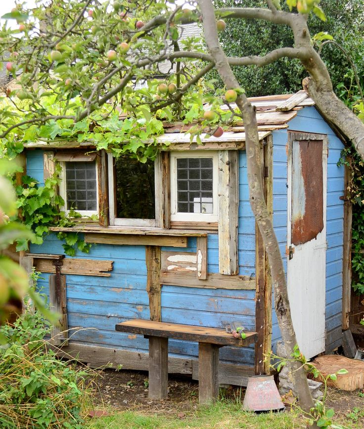 My gorgeous recycled allotment shed inspiration for Garden allotment ideas