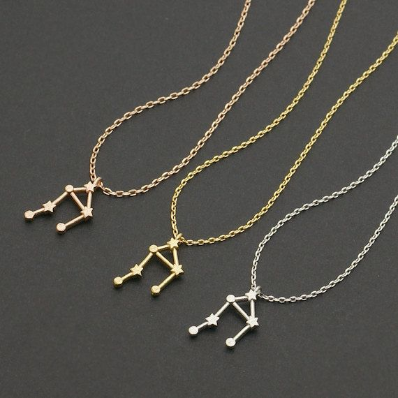 10pcs/lot Libra Zodiac Sign Astrology Necklace Constellation Jewelry Astrology Star Sign Necklace for Women Good Gift