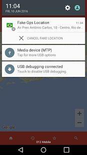 Fake GPS– уменьшенный скриншот