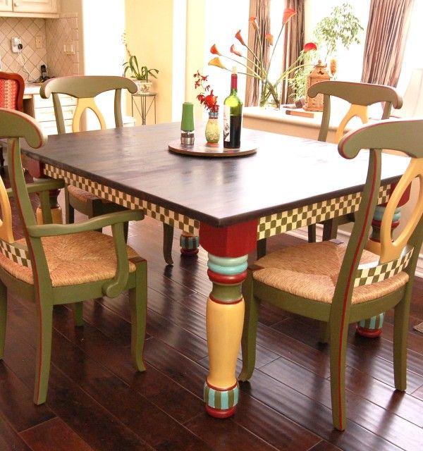 Captivating Mackenzie~Childs Inspired Table