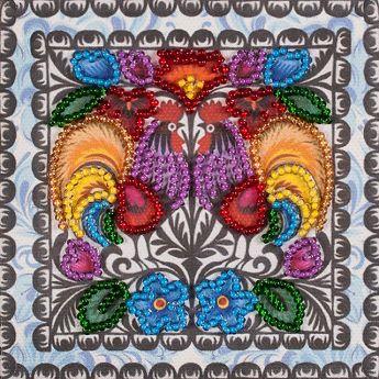 Магнит для вышивания бисером FLA-244   Волшебная страна искусства и рукоделия