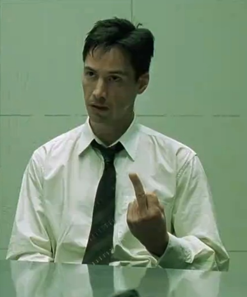I love The Matrix. Yes, the whole trilogy. If you have a problem with that…