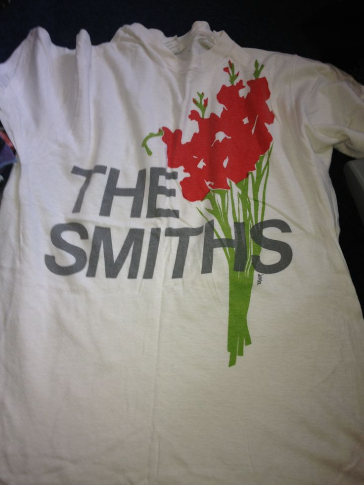 The Smiths Shirt Uk Indie Rock Band Screenprint Women By: Original Smiths T-Shirts