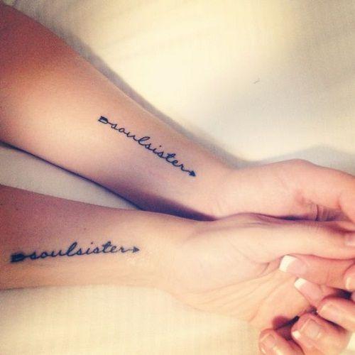 Soulsisters Best Friend Tattoos