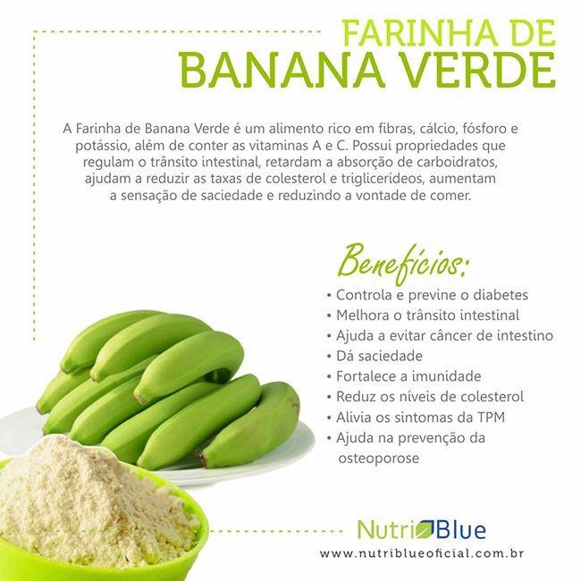 Dica Da Nutriblue Oficial Farinha De Banana Verde Nutriblue