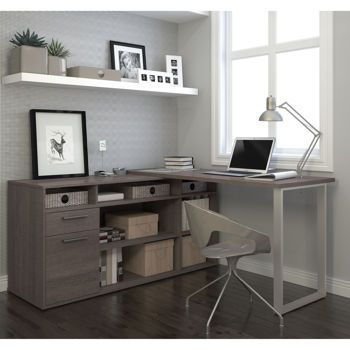 small office left hand l shaped desk - Google Search