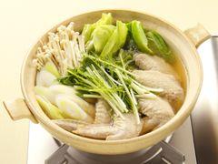 「手羽先の塩鍋・しょうが風味」の料理レシピ/完成イメージ