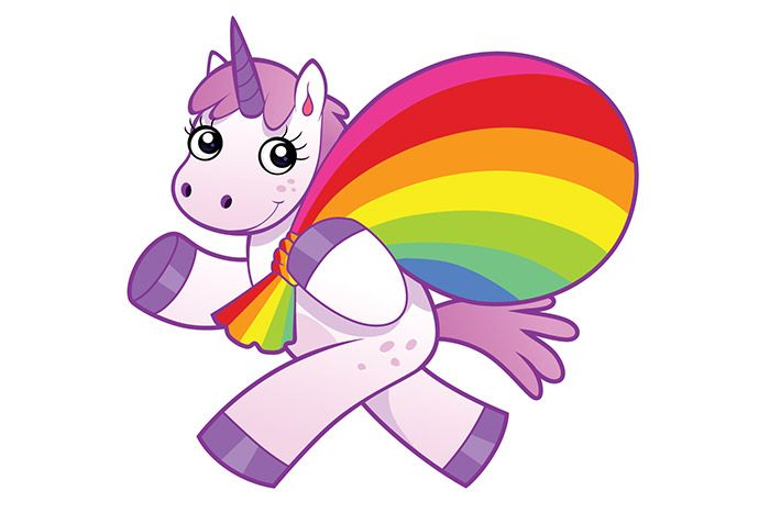 Unicorn Facts Did you know that unicorns can have purple eyes and their horns were sold for 10 times their weight in gold back in the 1500's? Learn facts about unicorns based on history and a few unicorn fun facts that will surprise little ones and grown ups alike. Unicorn Mythology Facts
