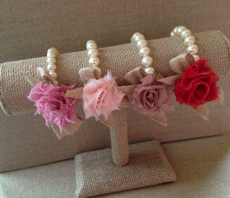 Custom pearl bracelet, corsage, flower girl gift, birthday ... | 736 x 633 jpeg 93kB