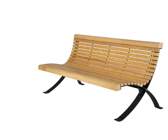 easy to build benches outdoor courtyard