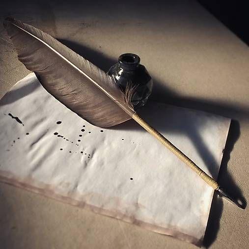 ardeas / Stredoveké brko na písanie