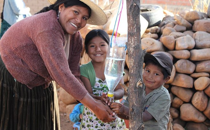 Two million people die from diarrhoea-related diseases each year. In rural #Bolivia, ChildFund is helping to provide access to clean #water and improved sanitation facilities so #children can grow up #healthy and #happy!