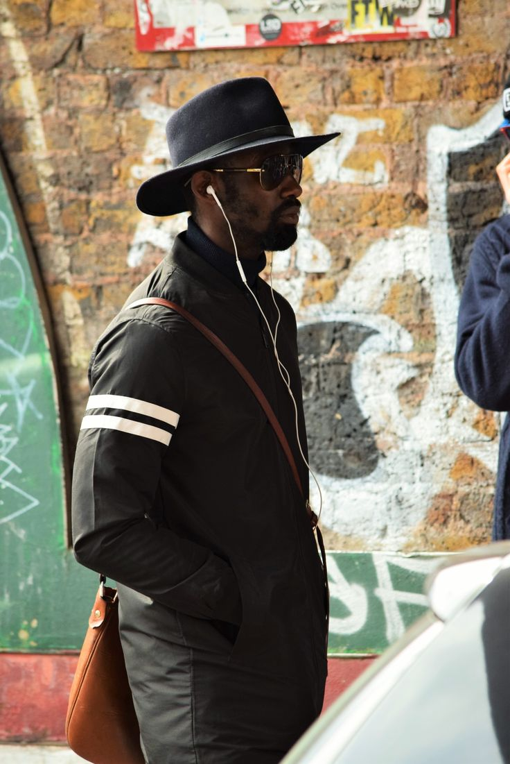 Street style from London pic hathat