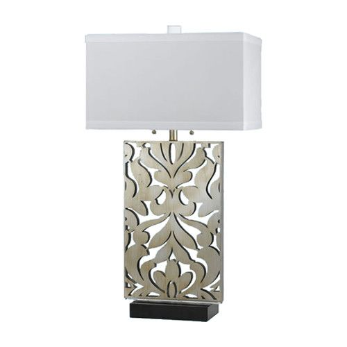 AF Lighting Candice Olson Daydream H Table Lamp With Rectangular Shade