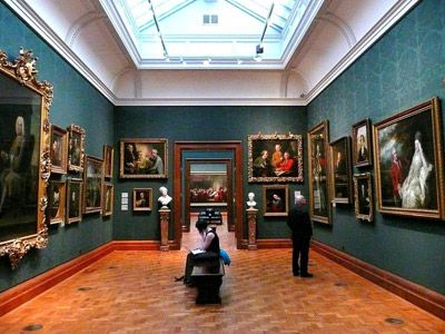 National Portrait Gallery, London. A very interesting place and one of London's greatest museums!