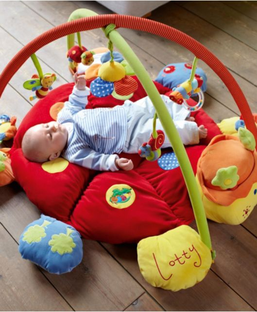Babyplay - Lotty Ladybird Light & Sound Playmat & Gym 50