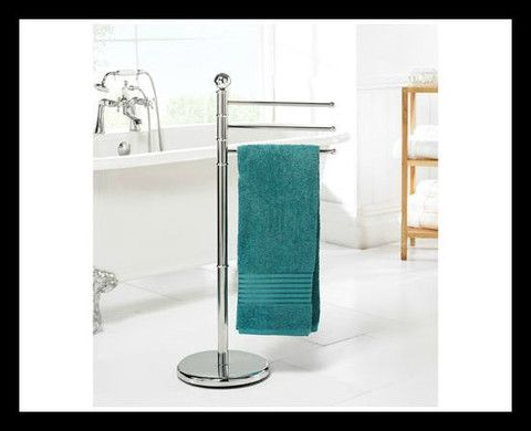 Chrome Towel Stand
