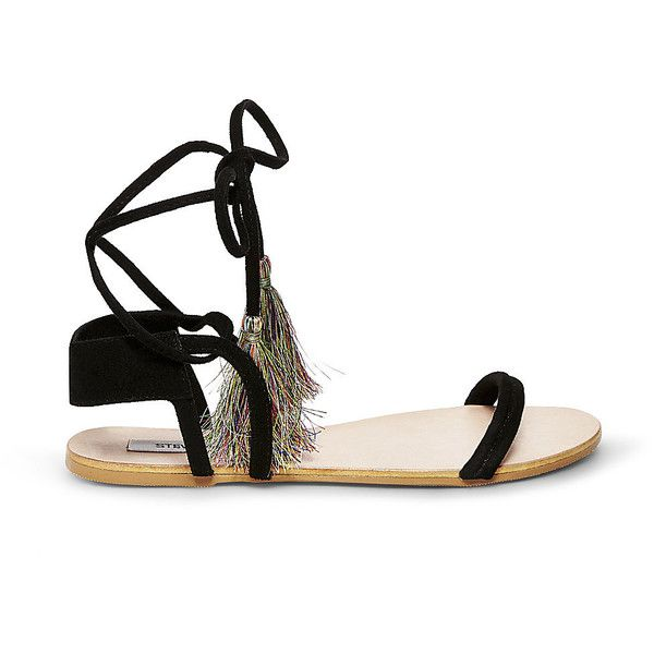 Steve Madden Women's Lummi Sandals ($70) ❤ liked on Polyvore featuring shoes,  sandals