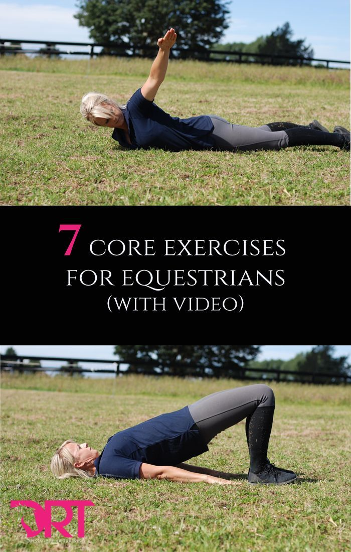 7 Core Exercises For Equestrians With Video Horse