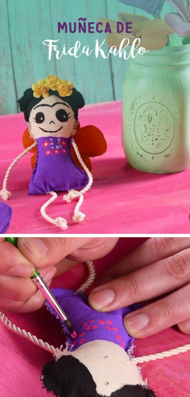 Este tip te enseñará a hacer una muñeca de tela de la famosa pintora mexicana Frida Khalo, es una muñeca muy simpatica y divertida, tienes que hacer la tuya.