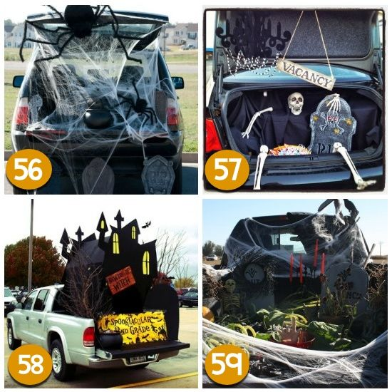 Trunk Halloween Decorating Ideas: 120 Creative Trunk Or Treat Ideas