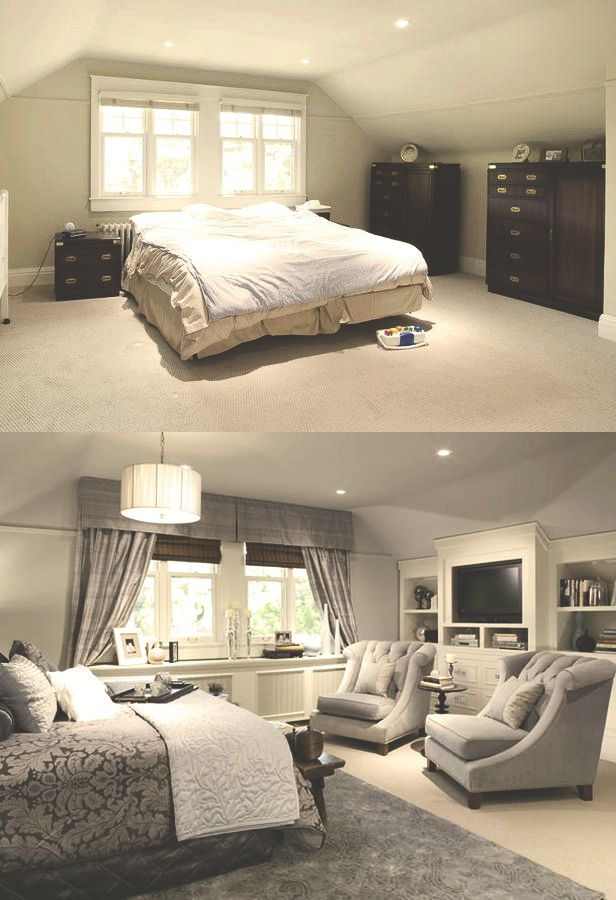 How to decorate master bedroom with slanted ceilings for How to decorate slanted ceilings