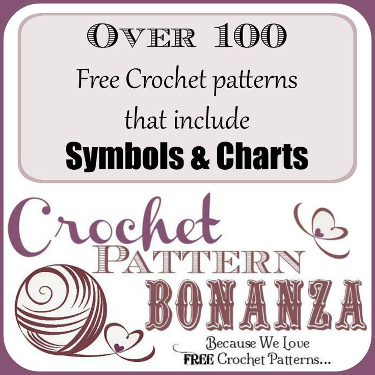 Free Crochet Patterns In Symbols : 17 Best images about Crochet - Symbols & Charts on ...