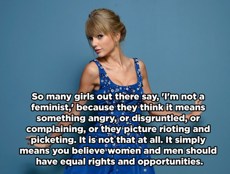 "On embracing the word ""feminist."" http://www.buzzfeed.com/perpetua/taylor-swift-was-right"