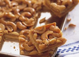 Brown Sugar Cashew Bars