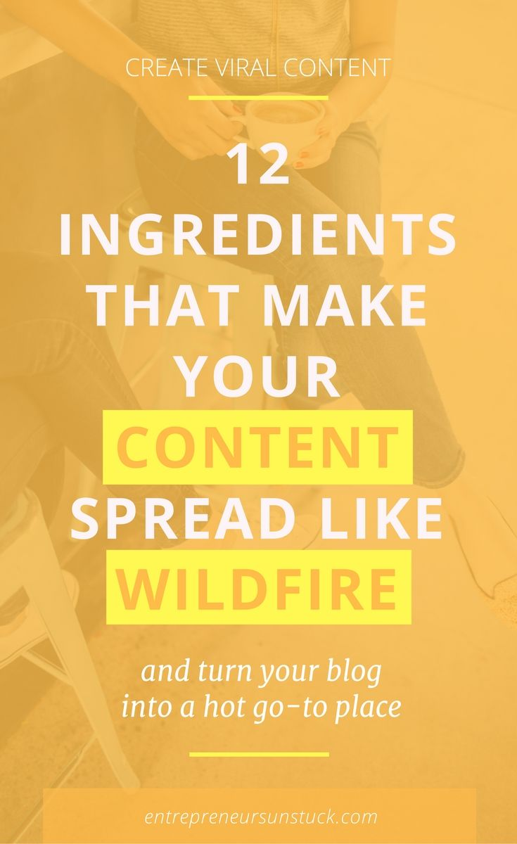 "Want to crack the code of creating content that makes people ""I need to share this""? Here are the 12 ingredients your posts need to engage your audience and boost your shares!"