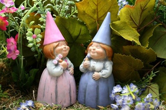 Female Garden Gnomes: Customized Just For You