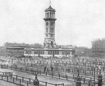 Victorian London - Markets - Metropolitan Cattle Market, Copenhagen Fields