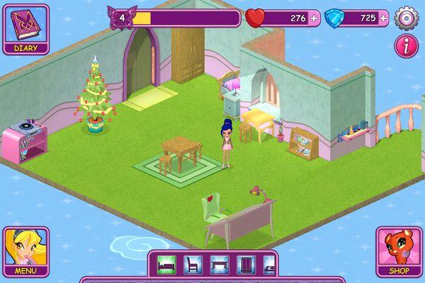 Winx Fairy School dorm