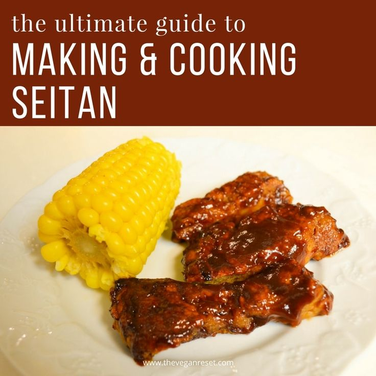 Homemade Seitan is delicious, super-easy to make, a good protein source and a great way to enjoy your favorite pre-vegan meals.