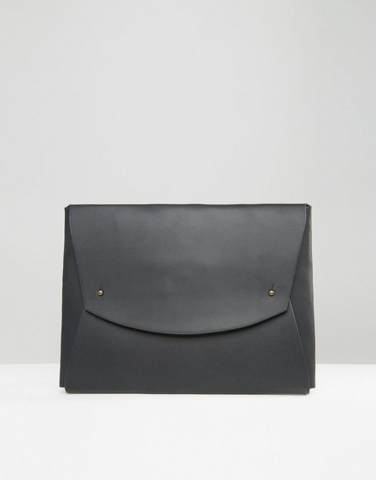 ASOS+Document+Holder+In+Faux+Leather