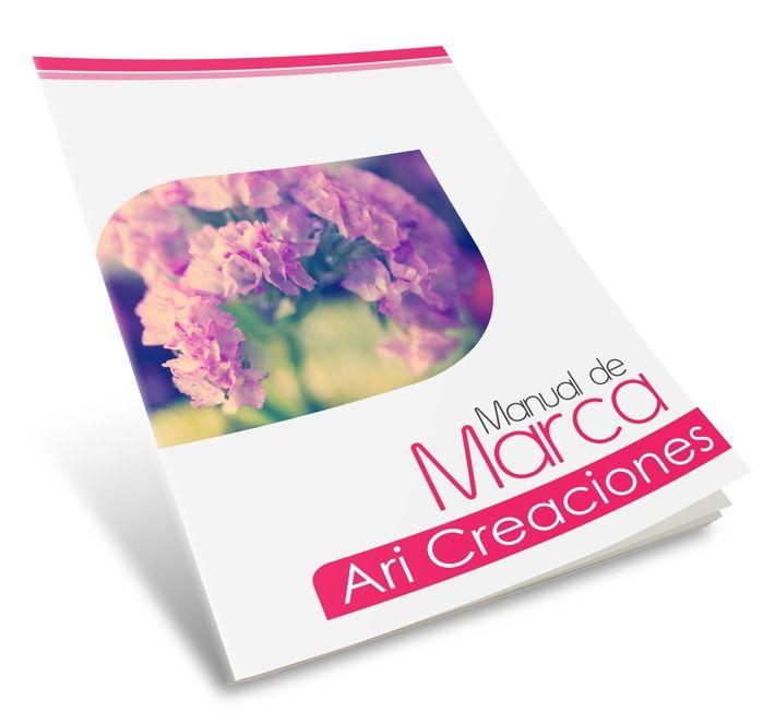 Manual de Marca Ari Creaciones | Cover Mockup
