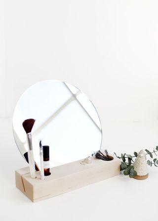 DIY table mirror
