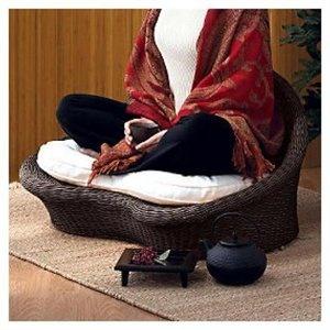 Neat! I want one!: Idea, Rattan Meditation, Yoga Meditation, Meditation Rooms, Meditation Chairs, House, Products, Dreams Boards, Meditation Spaces