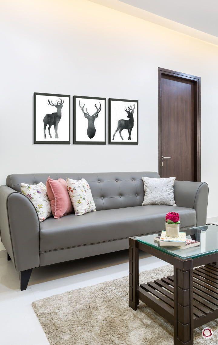 Step Into A Simple Budget Home At Lodha Splendora Living Room Furniture Sofas Sofa Colors Living Room Sofa