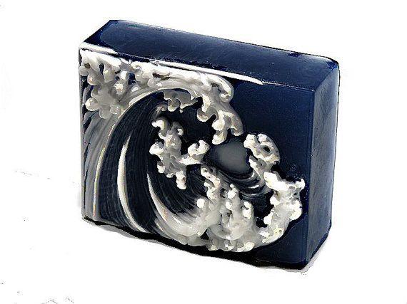 Tsunami Wave Decorative Gift Soap Bar NEW DESIGN